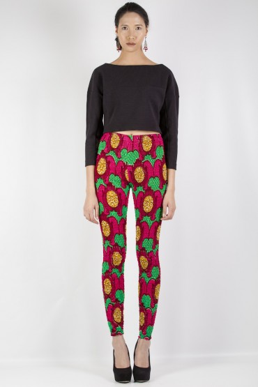 Exclusivité : des leggings en Wax - imprimé africain