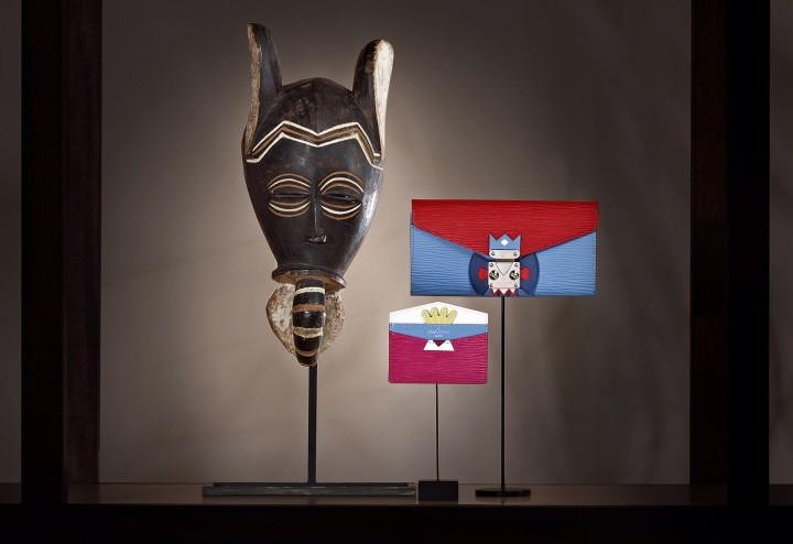 LOUIS VUITTON Mask  : Une collection d'inspiration africaine