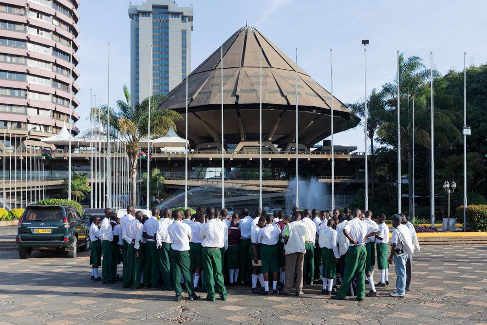 08_Architecture_Independence I Kenyatta International Conference Centre, Nairobi (Kenya), von/ by Karl Henrik Nostvik, 1967-1973, Foto/photo: © Iwan Baan