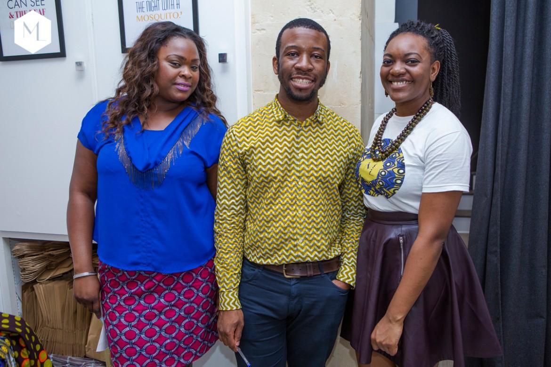 Nadine, Franck, Joan (Inspire Afrika)