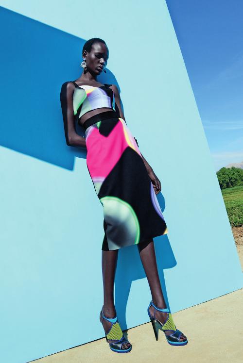Ajak-Deng sudanese model Black model