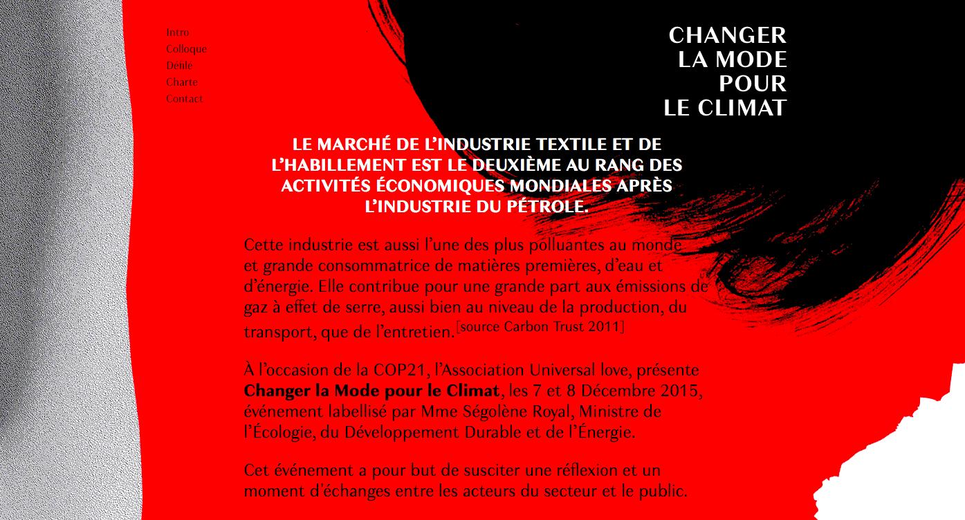 Changer la mode pour le climat