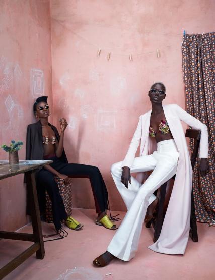 African Fashion Rising avec Maria Borges & Ajak Deng