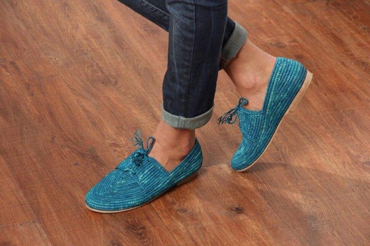 PALM STYLE, des souliers en raphia pour l'été