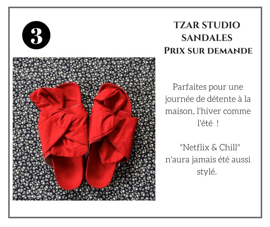 Tzar Studios Sandals