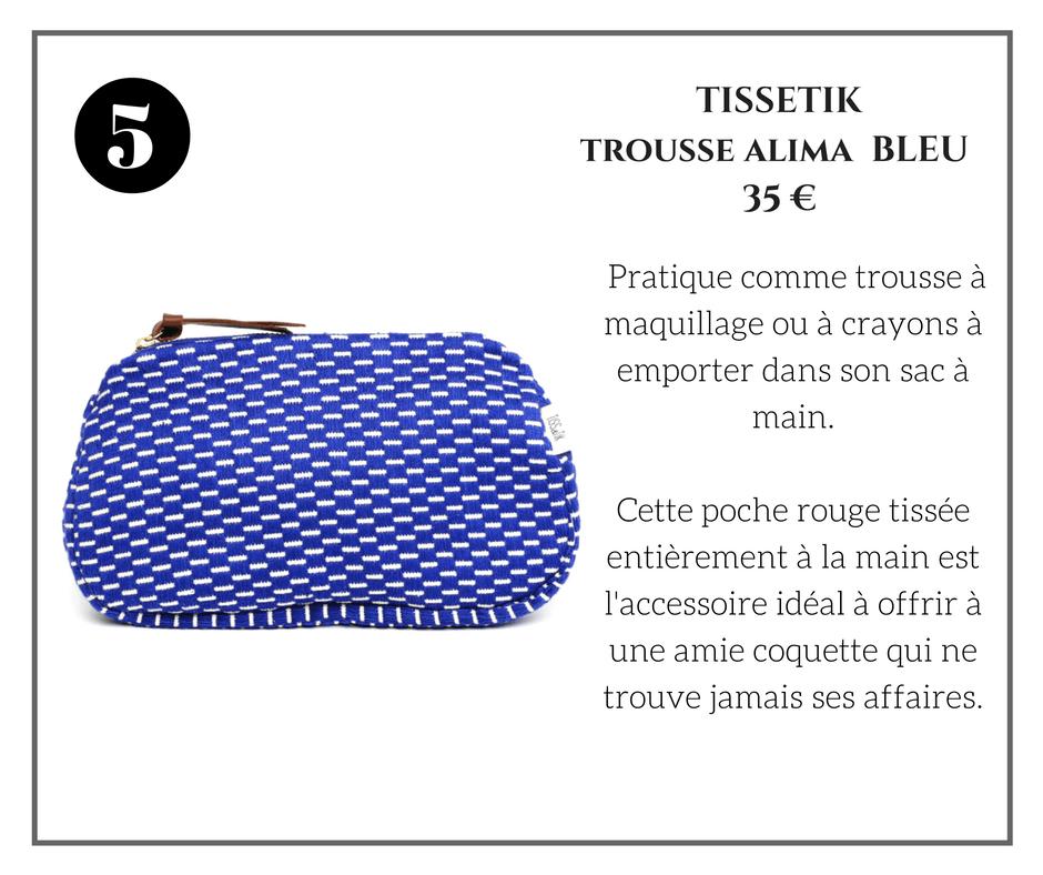 Tissetik Trousse Alma Bleu