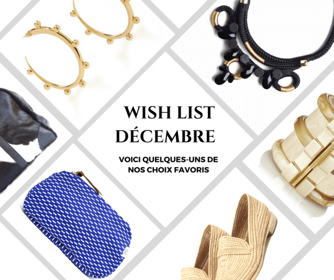 Wish List MoonLook Décembre