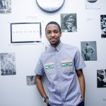Afropolitan wearing Laurence Airline shirt