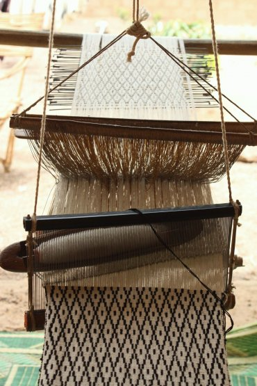 Le tissage du coton au Burkina Faso