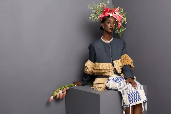 Loza Maléombho présente  sa collection AH 2015