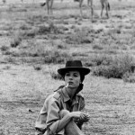 Elsa Martinelli on Safari