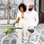 Solange Knowles white wedding