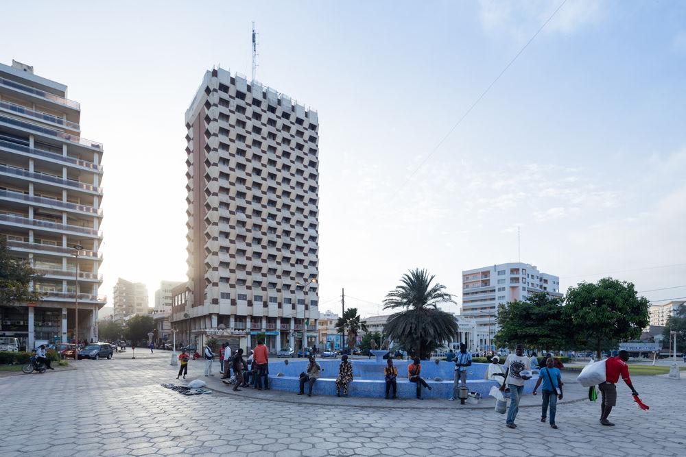 03_Architecture_Independence I 02_Architecture_Independence I La Pyramide, Abidjan (Côte d'Ivoire), von/by Rinaldo Olivieri, 1973, Foto/photo:© Iwan Baan