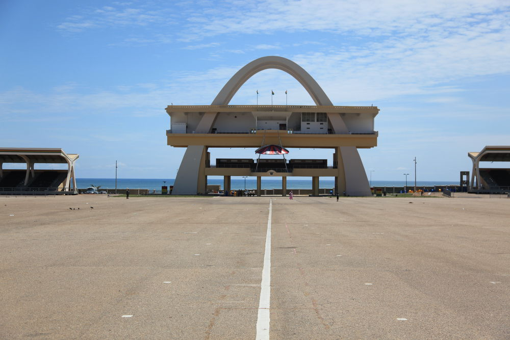07_Architecture_Independence I ndependence Arch, Accra (Ghana) des/by the Public Works Departments, 1961, Foto/photo: © Manuel Herz