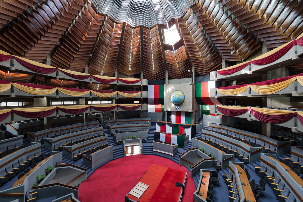 09_Architecture_Independence_ I Kenyatta International Conference Centre, Nairobi (Kenya), von/by Karl Henrik Nostvik, 1967-1973, Foto/photo: © Iwan Baan