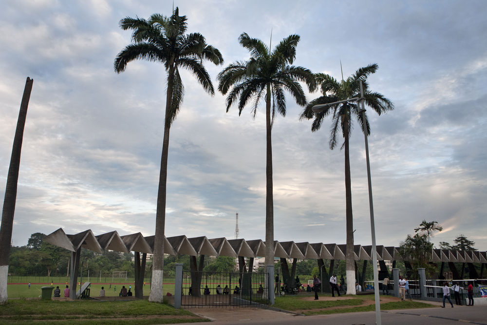 11_Architecture_Independence I Stadium at KNUST (Kwame Nkrumah University of Science and Technology), Kumasi (Ghana), von/by KNUST Development Office, 1964-1967, Foto/photo: © Alexia Webster