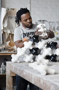 Andile Dyalvane Portrait, 2011, © Imiso Ceramics, Courtesy Southern Guild and Imiso