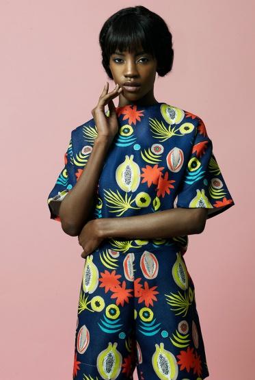 Sindiso Khumalo gagnante du Vogue talent