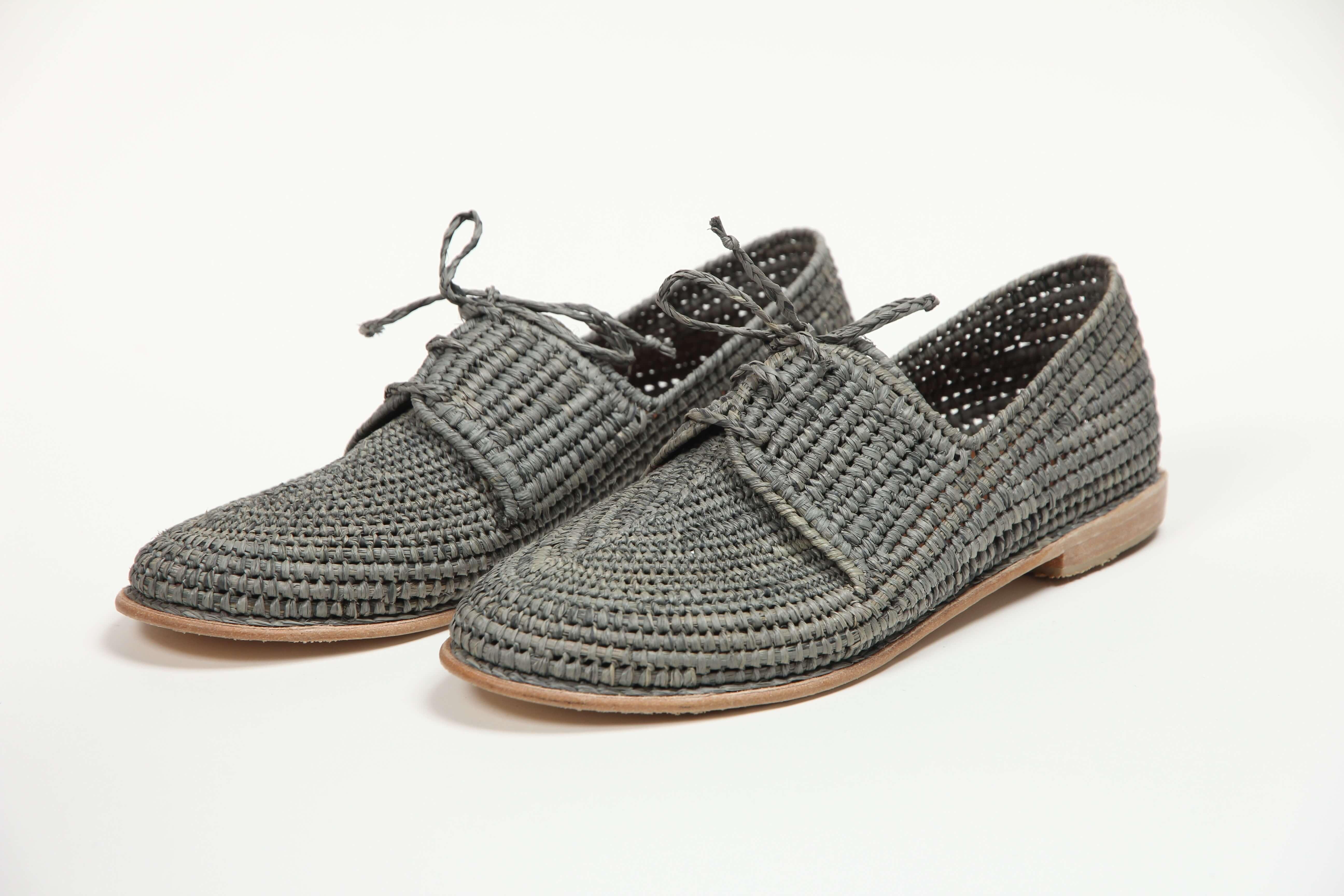 MoonLook sandales en raphia _2795
