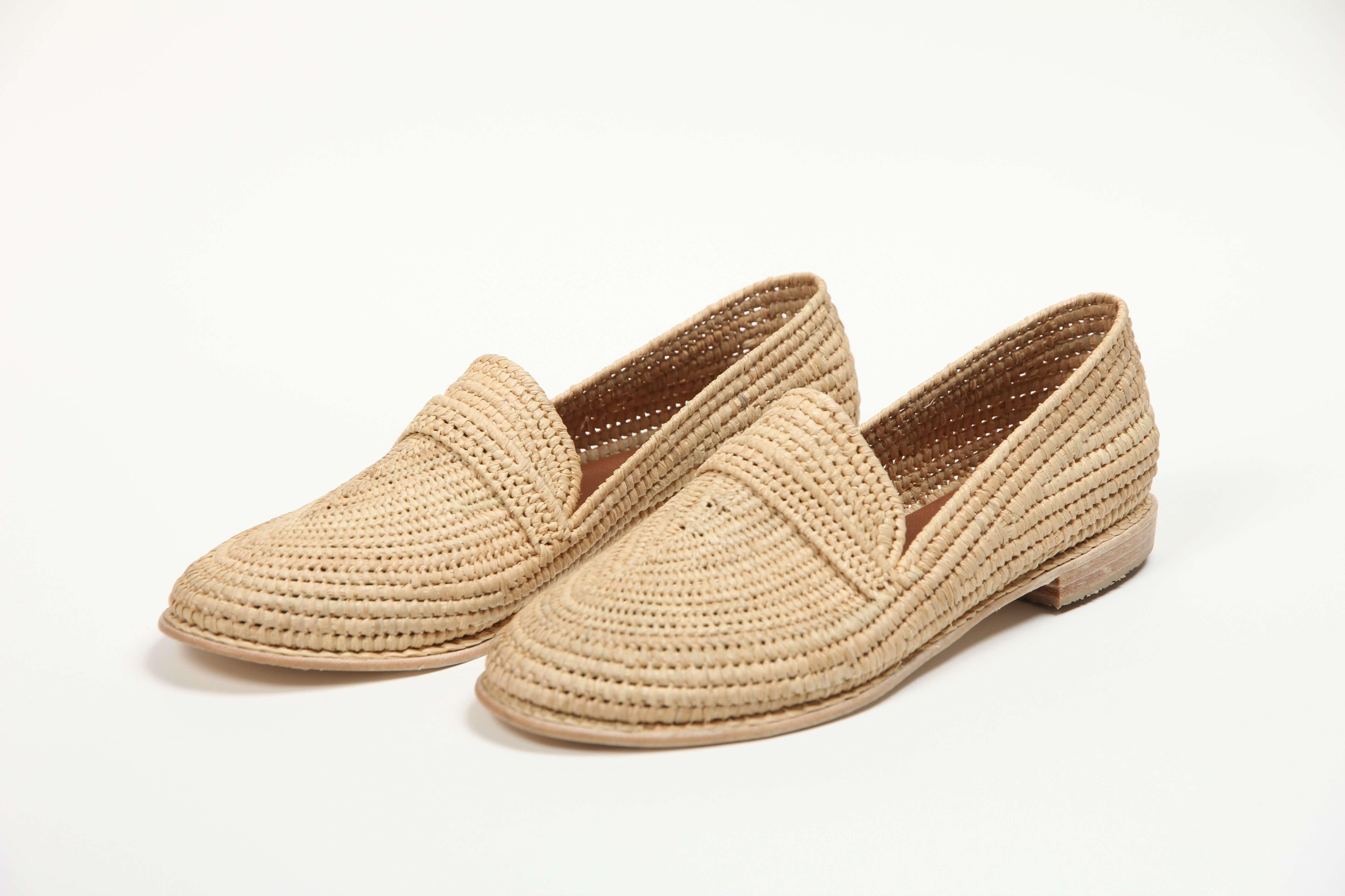 MoonLook sandales en raphia _2797