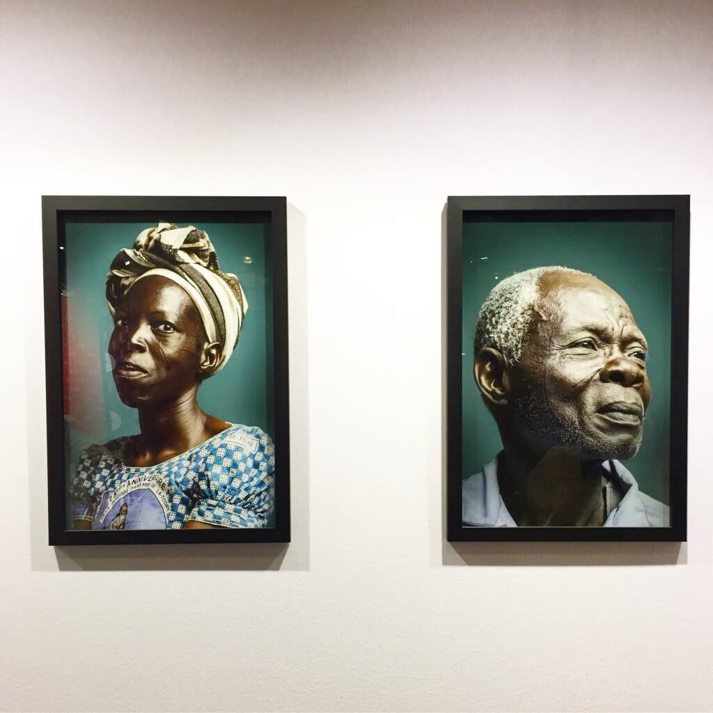 Featured at AKAA: Award winning 'Habrée series portraying the last immigrants feautiring facial scarifications in Abidjan. Artist: Joana Choumali