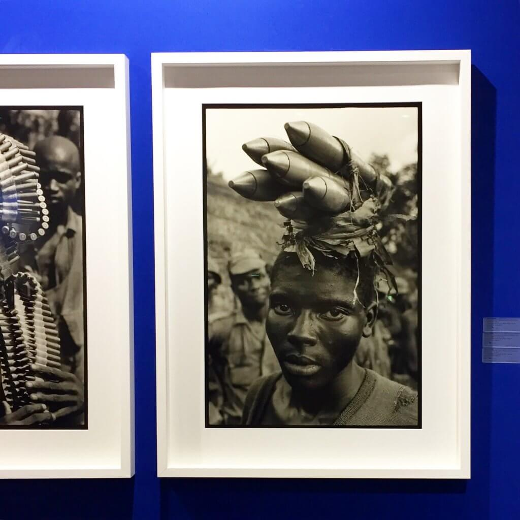 Featured at AKAA Paris: Caron (1939-1970) leaves behind more than 100 000 photographs. His extraordinary body of work left and inedible in print on the history of photography from the late 60's. Portrait of s Nigerian soldier.