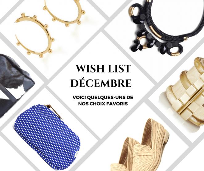 Wish List MoonLook Décembre