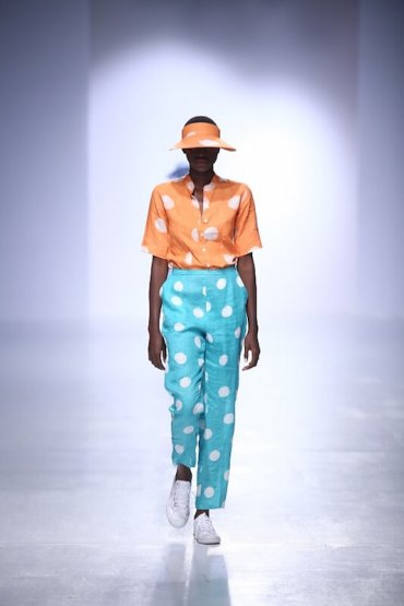 RÉ LAGOS SS'17 - Lagos fashion week