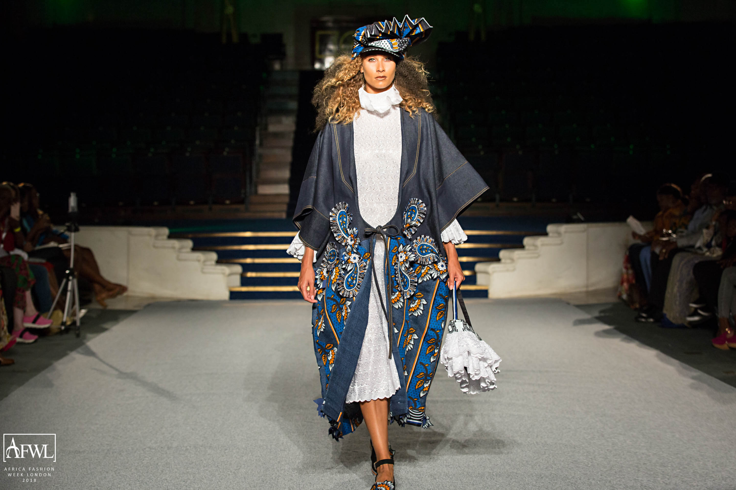 Big Hair Big Crowns And Spectacular Designs At Africa Fashion Week London Moonmag African Creatives Lifestyle
